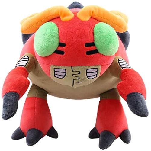 Dpprdl Muñeco de Peluche Digimon de 33 cm, Personaje de Dibujos Animados de Mariquita, Juguete de Peluche para niños