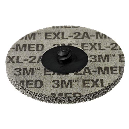 Scotch-Brite Roloc EXL Unitized Wheel TR, 3 in x NH 2A MED