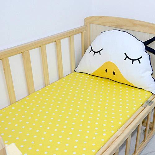 PENVEAT 100% Baumwolle Baby Bett Spannbetttuch tagesdecke babybett matratzenbezug Baby bettwäschesatz neugeborenen bettwäsche für Kinderbett größe 120 * 60 cm, q