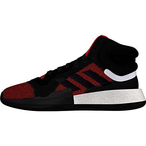 adidas Marquee Boost - Zapatillas de baloncesto para hombre, color negro, Negro (Negro ), 49 1/3 EU