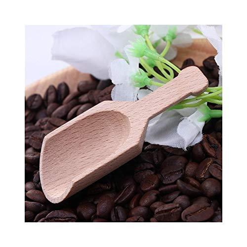 chenran Zubehör 6pcs Holz Kaffee Tee Schaufeln Mini Candy Badesalz Gewürze Aromen Löffel Spezialität Löffel Küche Geschirr Geschenk