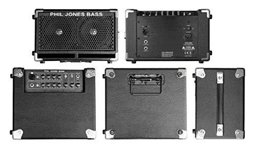 Phil Jones Bass CUB II BG-110 Small Practice Bass Combo Amplifier, Black