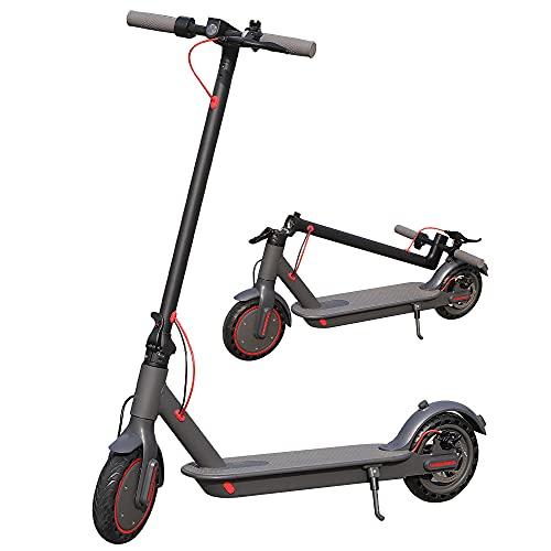 Verbesserter Elektro-Tretroller für Erwachsene, 350 W, faltbar, 40 – 45 km Autonomie, 3 Geschwindigkeitsstufen, App-Steuerung, schnell tragbar, Urban Glide Scooter