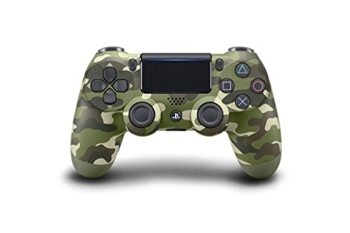Sony DualShock 4 Gamepad PlayStation 4 Camuflaje, Verde - Volante/mando (Gamepad, PlayStation 4, Analogue / Digital, D-pad, Hogar, Share, Inalámbrico, Bluetooth)
