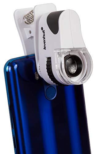 Microscopio de Bolsillo Levenhuk Zeno Cash ZC6 con Pinza, Am