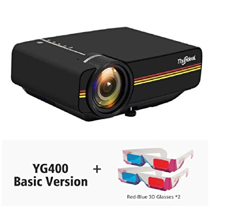 ThundeaL YG400 up YG400A Mini Projector 1800 Lumen Wired Sync Display More...