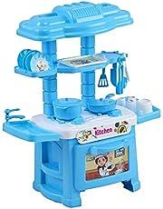 truvendor enterprises kitchen set toy for kids playing (32 pieces, kitchen set for 3+ kids high quality) (Multi color) (32 pieces)