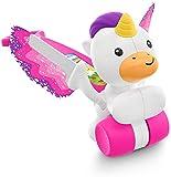 Fisher-Price- Dream Land Push Unicorn, Multicolor (Mattel GJD74)