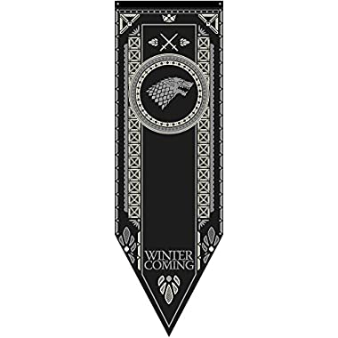 Calhoun Game of Thrones House Sigil Tournament Banner (19  by 60 ) (House Stark)