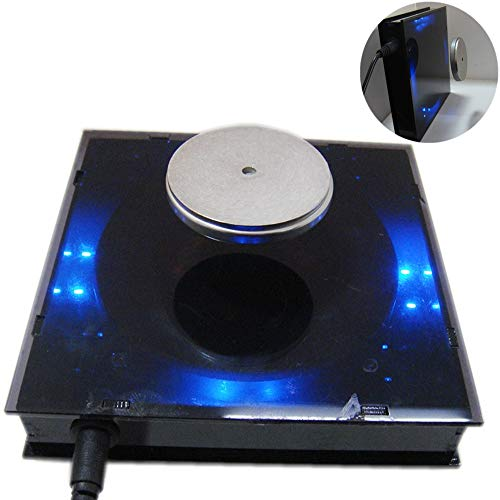 MBLUE Plataforma de visualización de levitación magnética DIY con Estuche acrílico Puede Cargar 500 g