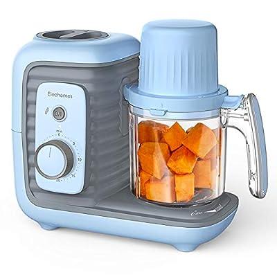 Amazon - Save 50%: Baby Food Maker, Elechomes 8 in 1 Baby Food Processor Blender Grinder…