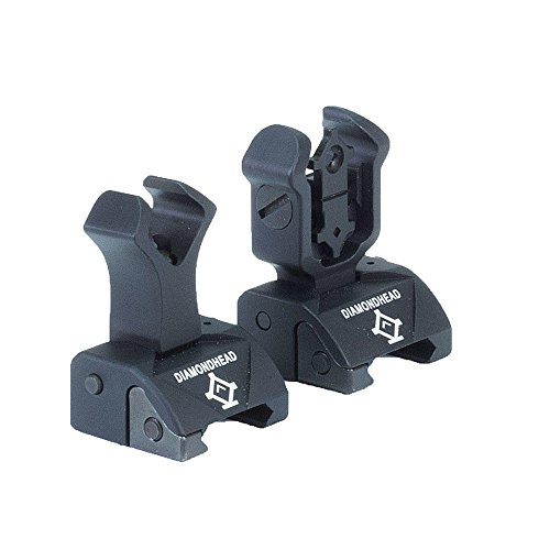 Diamondhead USA Front and Back Flip Up Sights