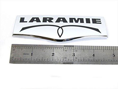 1pc OEM Laramie Tailgate Emblem Badge 3D Laramie Nameplate Replacement for 1500 2500 3500 Chrome