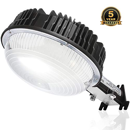 LED Yard Lights, 120W Dusk to Dawn Barn Lights with Photocell Sensor[800W MH/HPS Replacement] 14400Lm 5000K Security Area Lighting IP65 Waterproof Outdoor LED Floodlight for Garden/Walkway/Deck Flood Lights Security