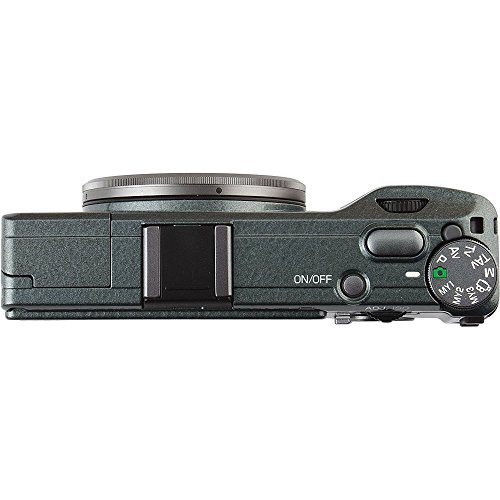 Ricoh GR 16.2 MP Digital Camera with 3.0-Inch LED Back (Limited Edition Green)
