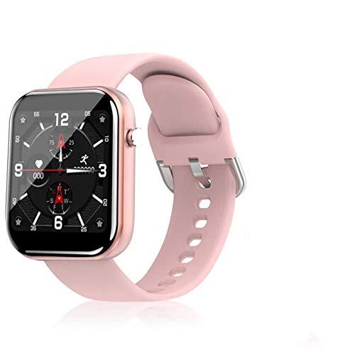 Reloj inteligente Merkts Fitness Tracker, resistente al agua, con frecuencia cardíaca, oxígeno en sangre, reloj con dos pulseras de repuesto, para iPhone Android
