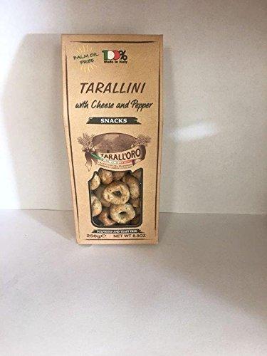 Tarallini (Cheese and Pepper) 6 Pack