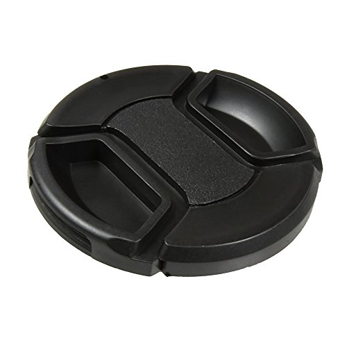 CamDesign 49MM Snap-On Front Lens Cap/Cover Compatible with Canon, Nikon, Sony, Pentax, Samsung, Panasonic, Fujifilm, Olympus all DSLR lenses