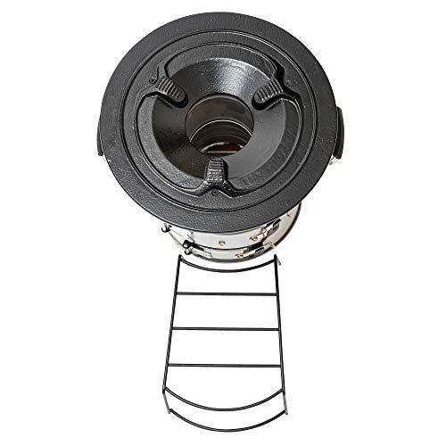 41LcZPsssFL - BBQ-Toro Raketenofen Rakete #2 I Rocket Stove für Dutch Oven, Grillpfannen und vieles mehr (Edelstahl)