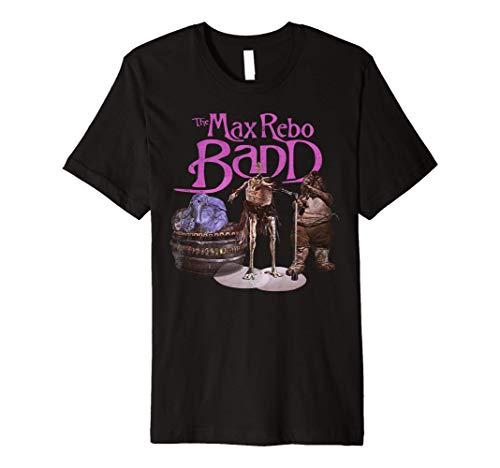 Star Wars The Max Rebo Band Retro 70's Rock Premium T-Shirt