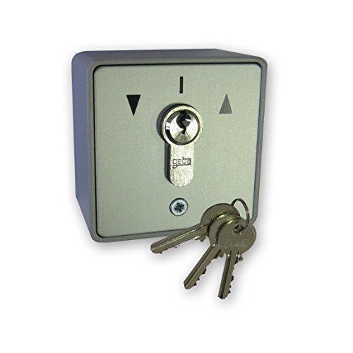 Schalter-Schlüssel Oberfläche Geba mit Puls von oben/unten