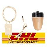 Spy-Gadget® - Auricolari invisibili a forma di nano induzione, per collo e collo senza fili