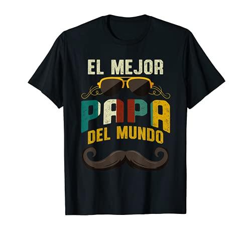 Hombre El Mejor Papa Del Mundo Lindo Dia Del Padre Hombre Regalo Camiseta