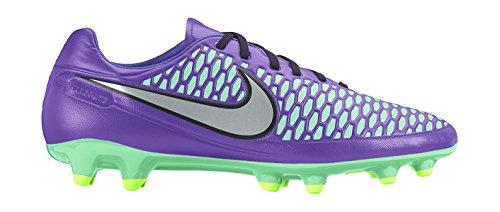 Nike Magista Orden FG, Botas de fútbol Hombre, Morado/Plateado/Verde (Hypr GRP/Mtllc Slvr-Ghst Grn-G), 38.5
