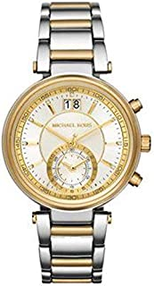 Michael Kors Sawyer Women's Silver Dial Stainless Steel Band Watch - MK6225