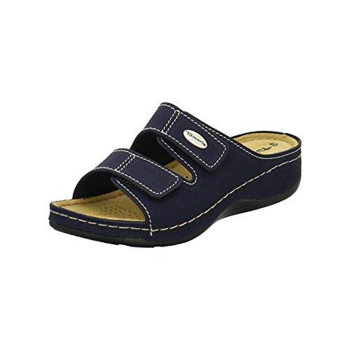 Tamaris Pantolette 1-1-27510-28/805 Größe 39 EU Blau (Navy)