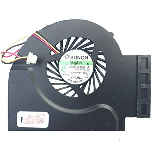 (Integrated Graphics Version) Lüfter/Kühler Fan kompatibel mit Lenovo Thinkpad W510 (4391-22U), W510 (4875), T510 (4349-2RU), T510 (4384-H2U), T510 (4313-J6U), T510 (4349-4XU)