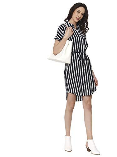 Vero Moda NOS dames jurk VMSASHA SHIRT SS DRESS COLOR