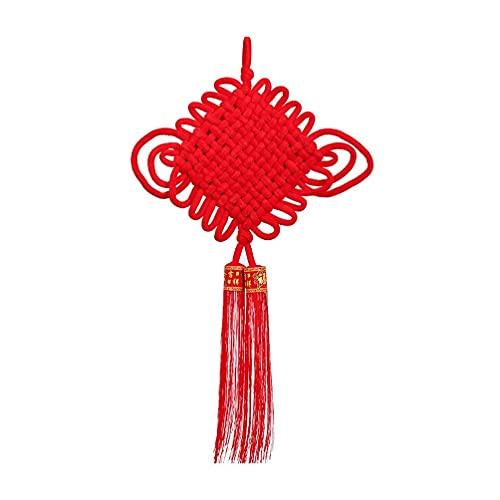 DIELUNY Decoración china del año nuevo chino de la borla del nudo que cuelga los adornos para las decoraciones del año nuevo del festival de la primavera