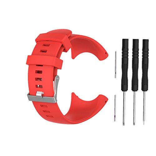 Meiruo Bracelet pour Suunto Core All Black, Fitness Band Bracelet pour Suunto Core All Black (Colour 2)