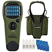 Thermacell Mosquito Repellent Camper's kit,Appliance Olive, Holster & 48-Hr Value Refill Pack