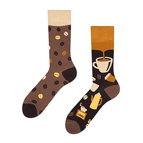 Good Mood Bambus-Socken, Kaffeebohnen, für Erwachsene, Größe 35–38