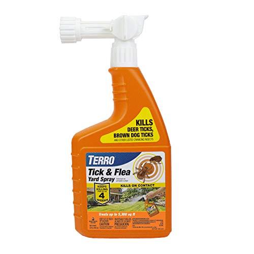 Terro T1240 Tick and Flea Yard Spray, Orange