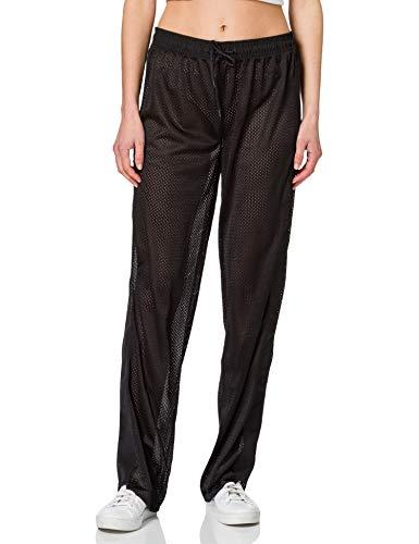 Calvin Klein Mesh Insert Jogger Pantalones Cortos, Pvh Negro, S para Mujer
