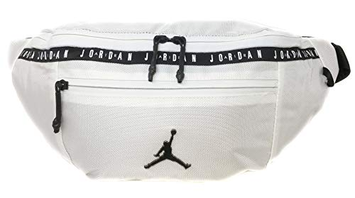Nike Air Jordan Over sized Taping Crossbody Bag (One Size, Gym Red)