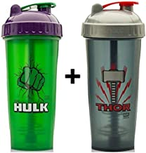 2 x Marvel Protein Shaker Bottles 800ml Hulk Thor Estimated Price : £ 34,99