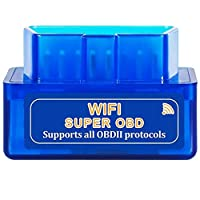 WiFi版 超小型 ELM327 OBD2スキャンツール (V1.5) /日本語マニュアル、保証付