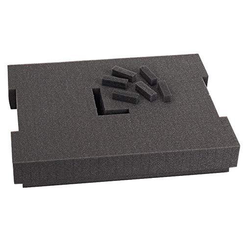 Bosch Professional Schiuma per Valigetta L-BOXX 136 e LS-BOXX 306, 8.5 cm, Grigio