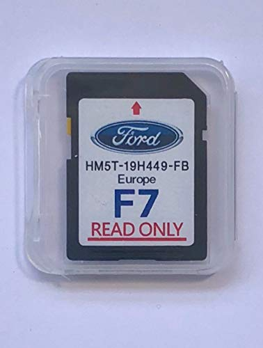 FORD F7 - SYNC2 SD Card Navigation Map Europe 2018
