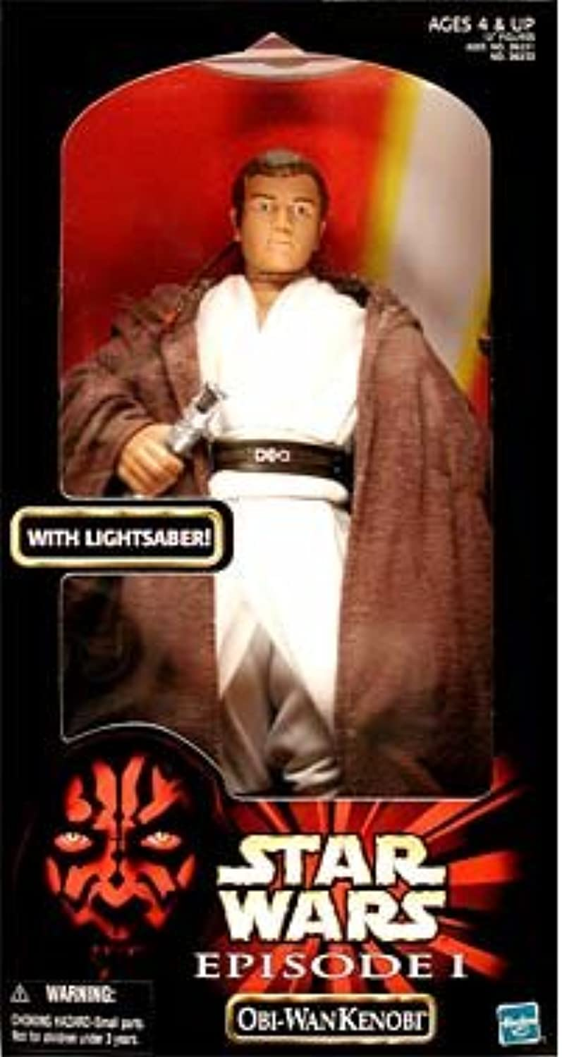 Hasbro Star Wars  Episode 1   ObiWan Kenobi Large Doll