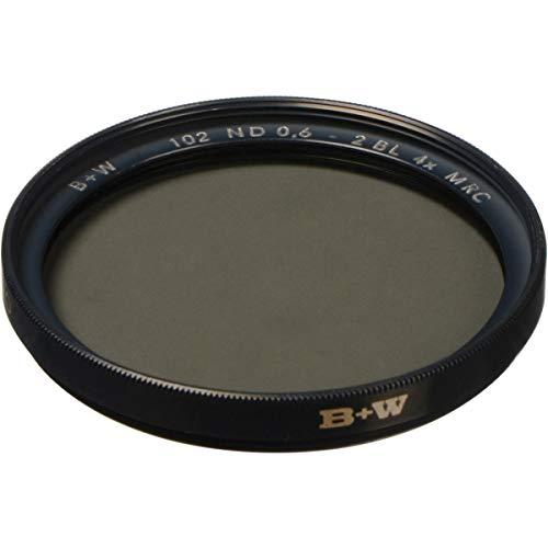 B+W 37mm ND 0.6-4X MRC (102M) - Filtro para cámara (3,7 cm, Negro)