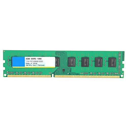 Ccylez Módulo de Memoria RAM de 2GB/4GB DDR3 1066Mhz, PC3-8500 Módulo de...