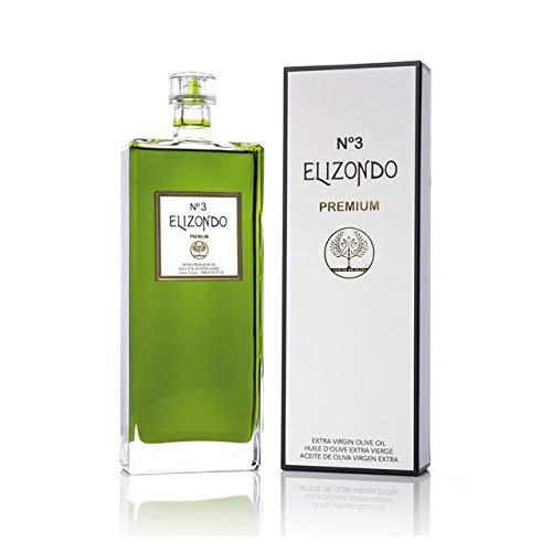 Natives Olivenöl Extra, Elizondo No. 3, Spanisches Olivenöl, Spanien, Gourmet, Perfekt als Geschenk, 500 ml