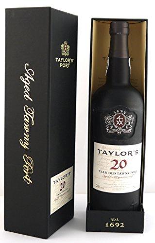 Taylor Fladgate 20 year old Tawny Port 2001 (75cls) in Taylor's Gift Box en una caja de madera con cuatro accesorios de vino
