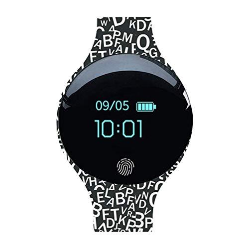 Smart Watch Sportmonitor IP65 Wasserdichter Smartwatch Farb-Touchscreen (Buchstaben)