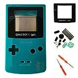 Cover di ricambio per custodia completa per Nintendo Gameboy colore GBC - verde acqua